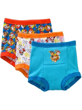 Paw Patrol Potty Training Pants Underwear, 3-Pack (Toddler Boys)