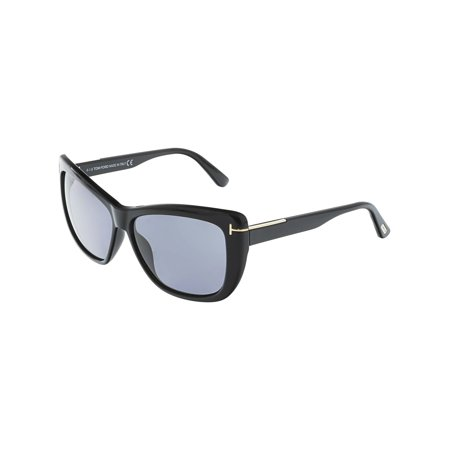 39438f72058c3 UPC 664689717958 product image for Tom Ford Women s Polarized Lindsey  FT0434-01D-58 Black ...