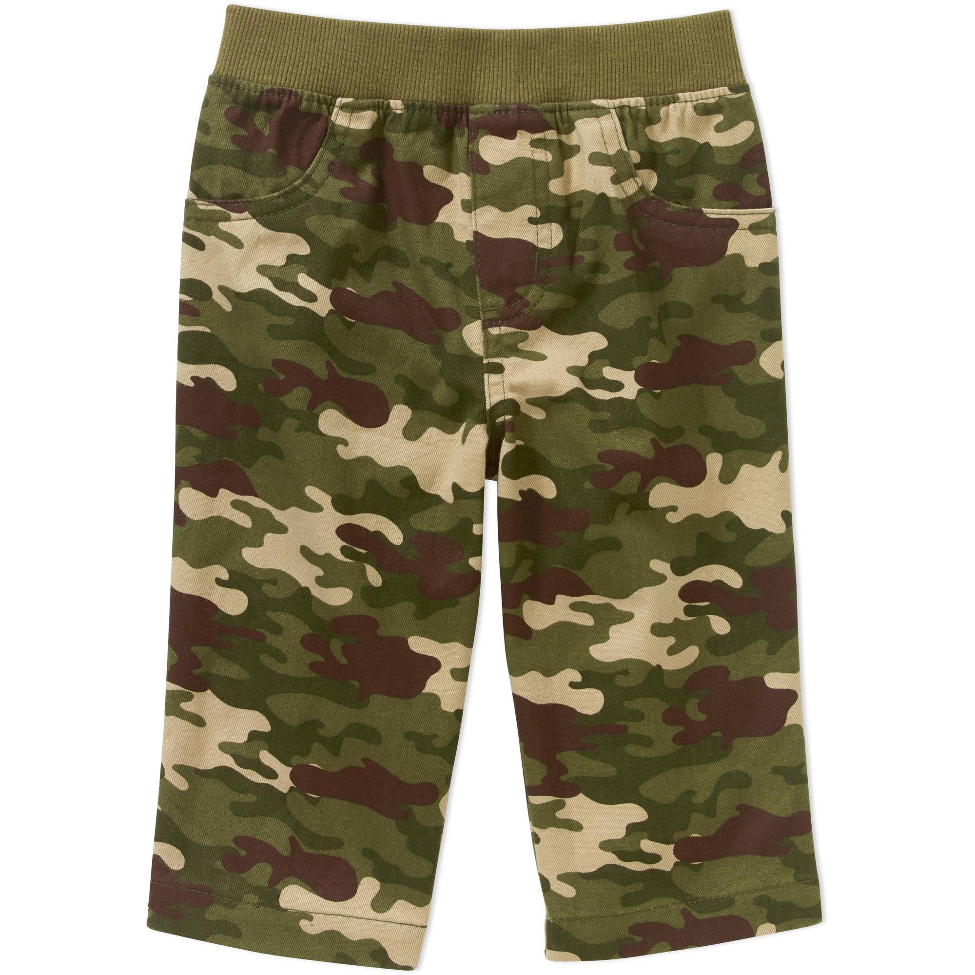 Garanimals Baby Boy Print Camo Woven Pants