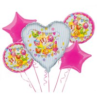 Shopkins Balloon Bouquet Kit, 5pc