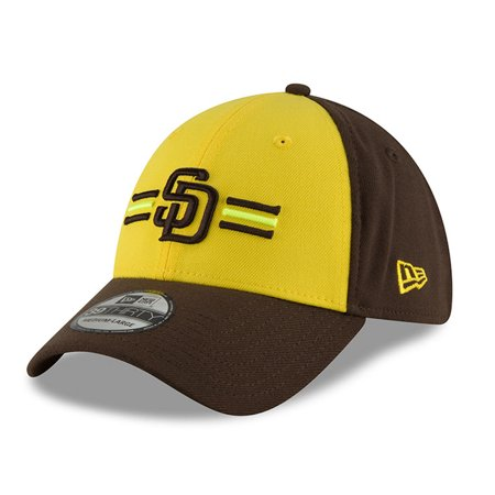San Diego Padres New Era 2018 Players  Weekend 39THIRTY Flex Hat -  Yellow Brown - Walmart.com 65bb7fd0906