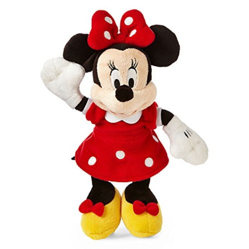 Disney Collection Red Minnie Mouse Mini Plush (Multi), Girls