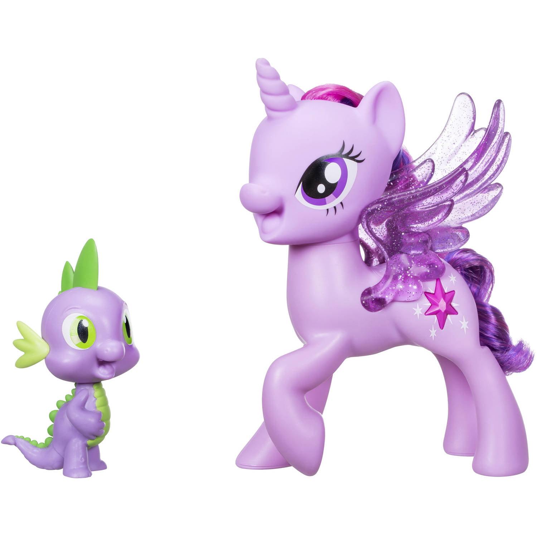 My Little Pony Princess Twilight Sparkle Spike the Dragon Friendship Duet by Hasbro