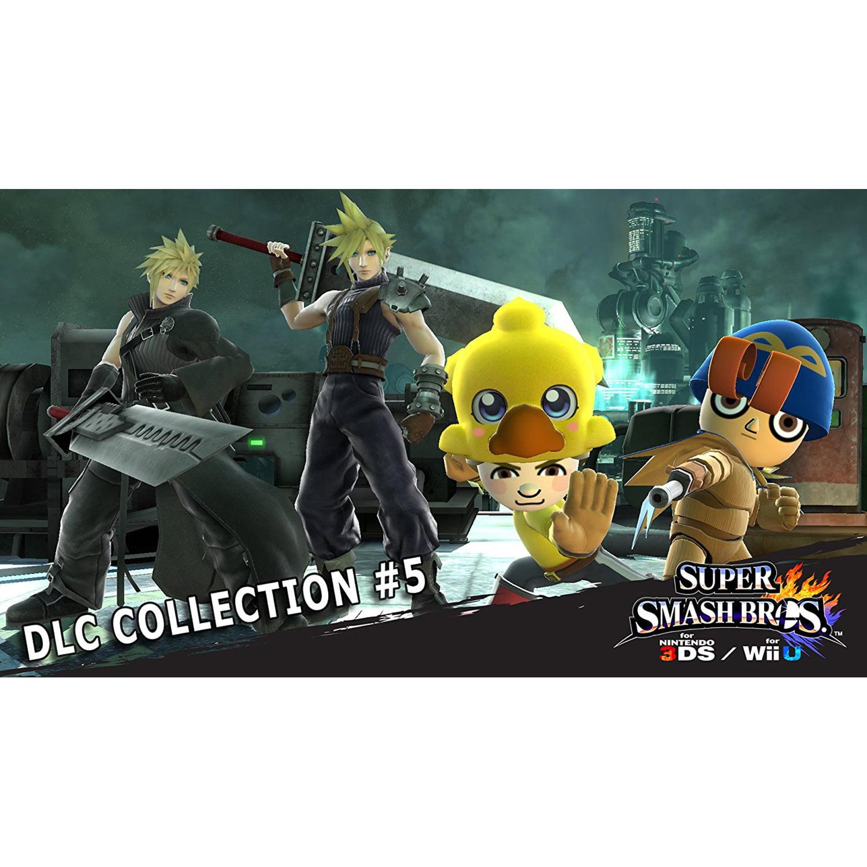 Super Smash Bros. DLC Collection #5, Nintendo, WIIU, [Digital Download], 0004549666080