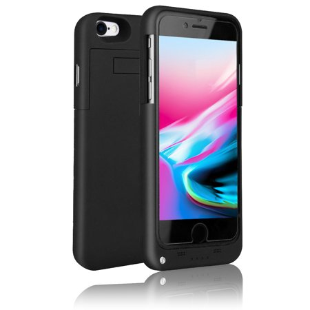 the best attitude 91b80 1a74b Indigi Trendy External Battery Case Juice Pack for iPhone 8 Plus - Black -  4000mAh