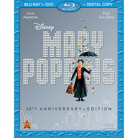 - Mary Poppins (50th Anniversary Edition) (Blu-ray + DVD + Digital Copy)