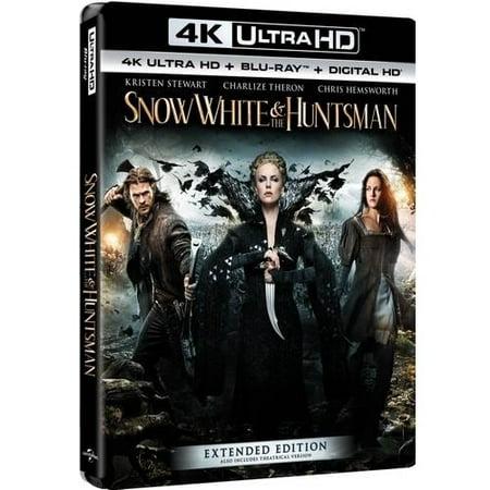 Snow White   The Huntsman  4K Ultra Hd   Blu Ray   Digital Hd
