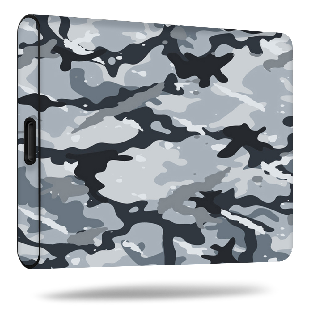 MightySkins Skin For Samsung T5 Portable SSD   Protective, Durable, and Unique Vinyl Decal wrap cover   Easy To Apply, Remove, and Change Styles   Made in the USA