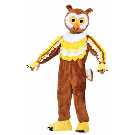 Halloween Give A Hoot Owl Mascot Adult Costume - Halloween 280