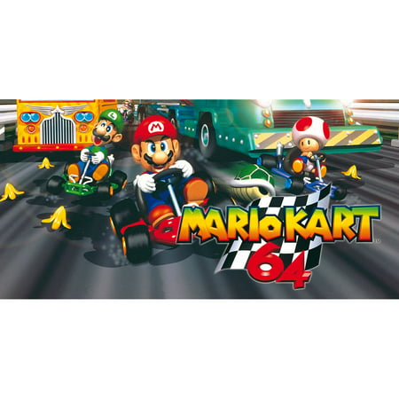 N64 Mario Kart 64, Nintendo, WIIU, [Digital Download], 0004549666187