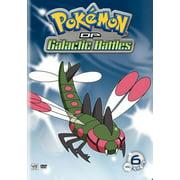Pokemon Diamond & Pearl Galactic Battles Volume 6 (DVD)