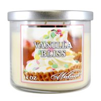 719 Walnut Avenue Vanilla Bliss Scented Candle, 14 Oz.
