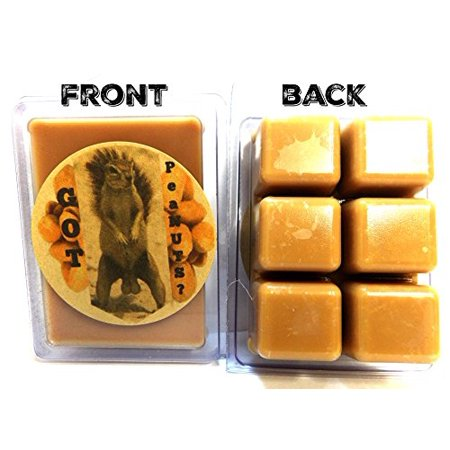 GOT Nuts - Peanut Butter Aroma 3.2oz Pack of Soy Wax Tarts (6 Cubes Per Pack), Wickless Candle Brown Sugar Soy Candle
