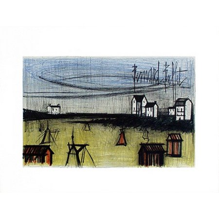 A Small Beach Poster Print by Bernard Buffet (26 x (Bernard Buffet)