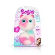Pomsies Patches Plush Interactive Toys, White/Pink/Mint Standard