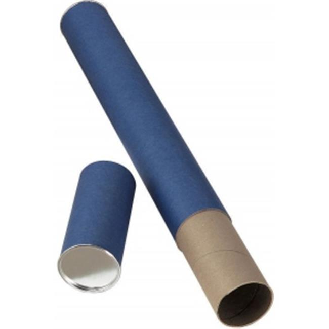 Alvin T413-37 37 inchL x 2. 5 inch I. D.  Fiberboard Tube with Blue Paper Wrap