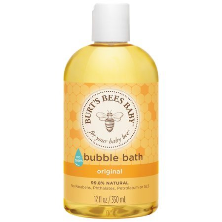 (Burt's Bees Baby Bubble Bath, Tear Free Baby Wash - 12 oz Bottle)