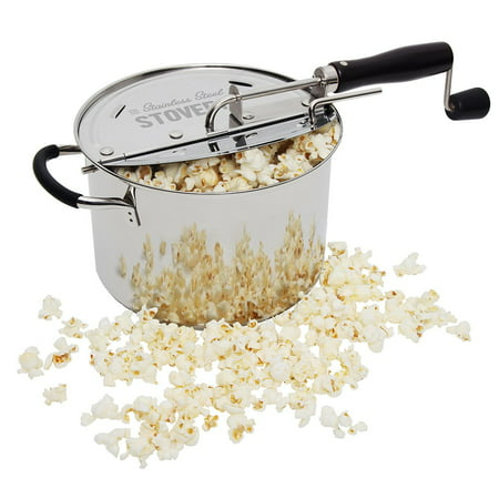 StovePop Stainless Steel Popcorn Popper by VICTORIO VKP1160 ()