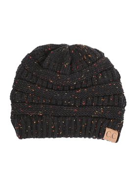 CC Women's Cable Knit Confetti Beanie