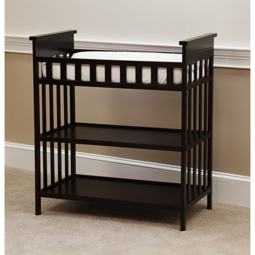 Child of Mine by Carter's Woodhaven Changing Table, Chocolate
