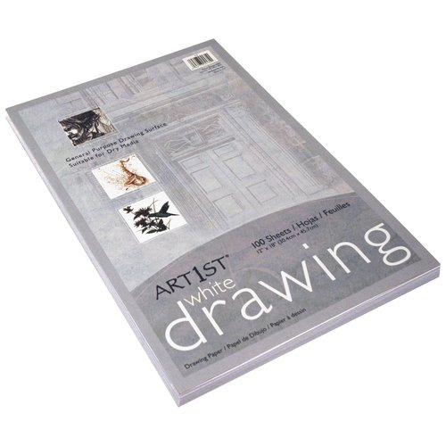 Art1st Standard Weight Drawing Paper, White