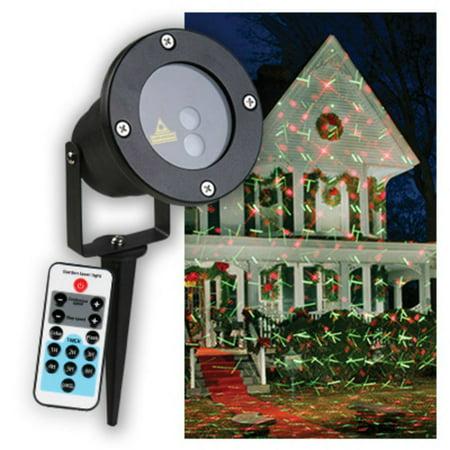 Star Bright CRF100RG Holiday Star Laser Light Projector, Red & Green Geometric Designs ()