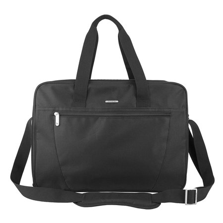 Pack Flat Back Up Bag, Black, Perfect for when you need additional packing capacity, this bag packs flat to fit in a suitcase and unzips to become a carry-on.., By