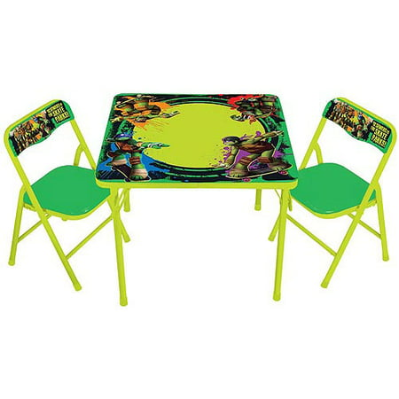 Nickelodeon Teenage Mutant Ninja Turtles Erasable Activity Table Set with Markers