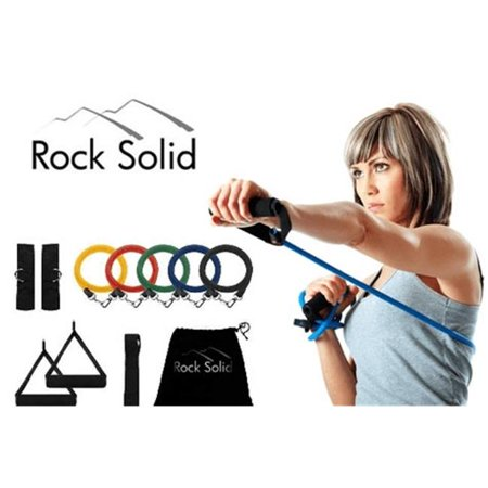 Rock Solid Resistance Rubber Band Kit