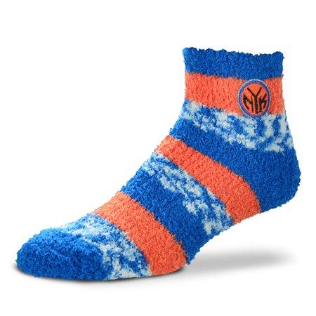 New York Knicks Women's For Bare Feet Sleep Soft Pro Stripe Socks - No Size