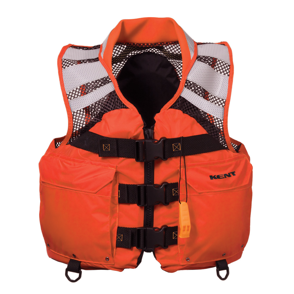 KENT MESH SEARCH AND RESCUE COMMERCIAL VEST - 2X-LARGE