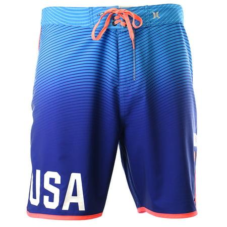 Hurley Phantom USA Olympic Team Swimwear Fashion Board Short - (Phantom Eclipse Board Skirt)