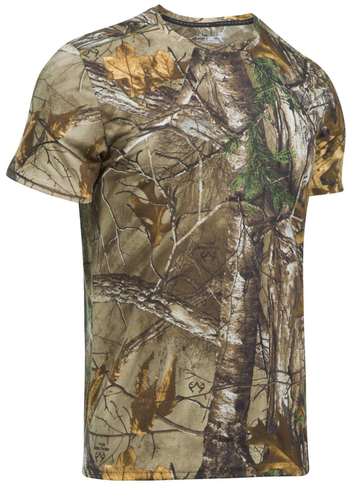 Under Armour Men's UA Threadborne Early Season Short Sleeve Camo Shirt