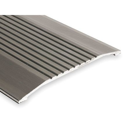 427-6 Saddle Threshold, Fluted Top, 6 ft., Alum