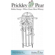 Prickley Pear Cling Stamps 3.25 Inch X 3.25 Inch-Winter Sled