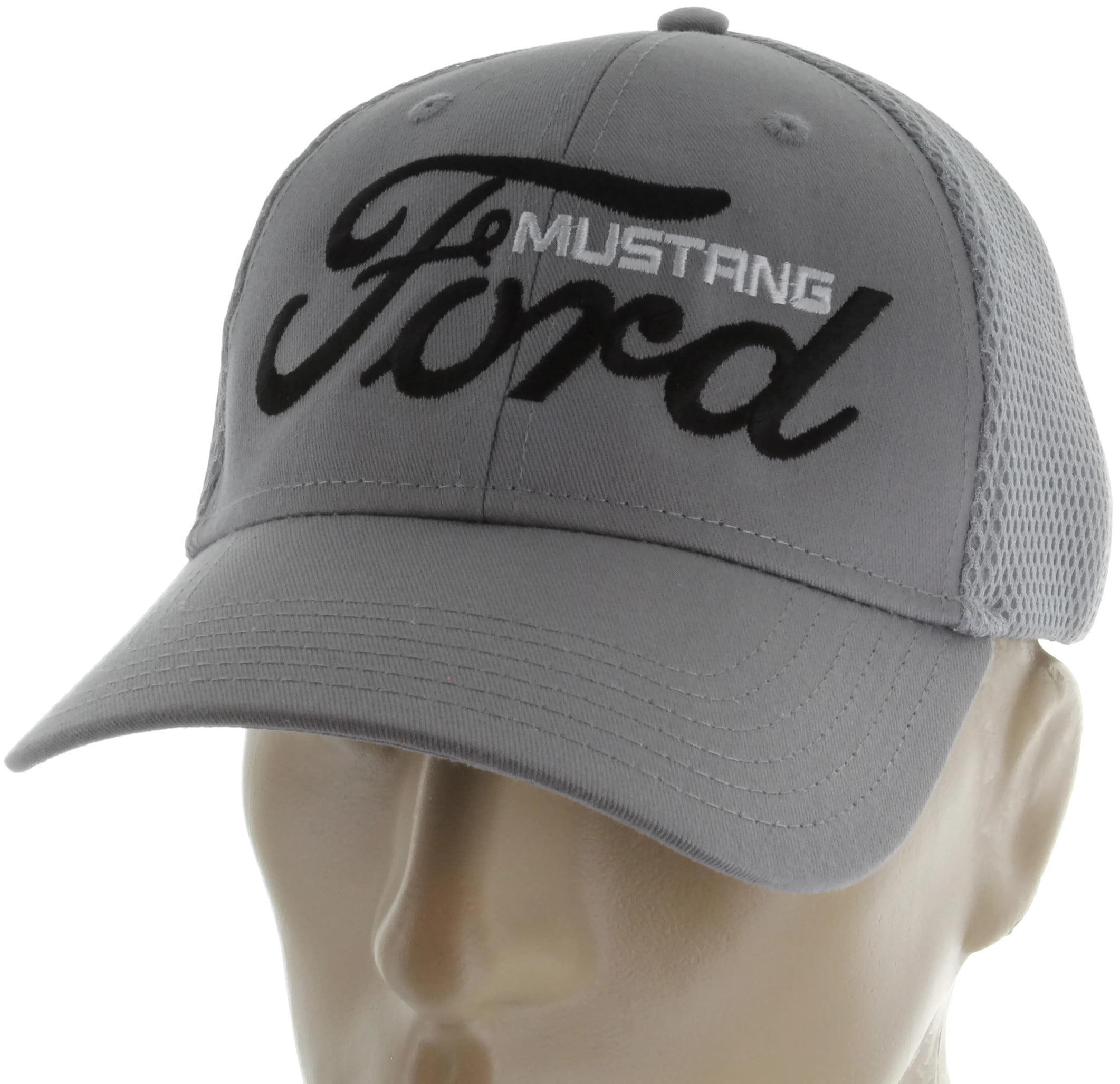Grey Ford Motor Company Trucker Style Mesh Cap Hat