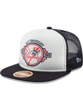 d0e6dd5ab80fd9 Product Image New York Yankees New Era Cooperstown Collection Foam Trucker 9FIFTY  Snapback Adjustable Hat - White/
