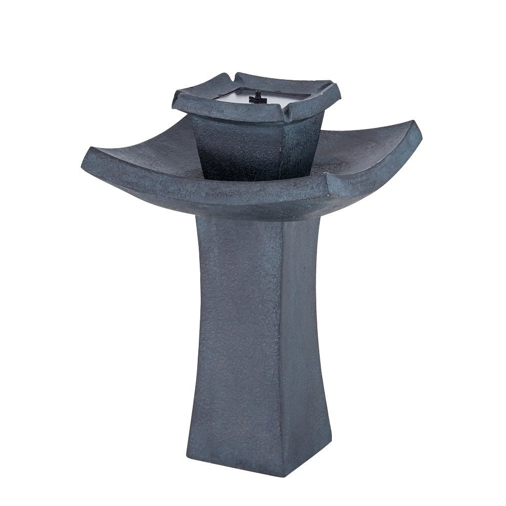 Fountain Pump, 2-tier Solar Demand Outdoor Garden Decorative Water Fountain Pump by Smart Solar