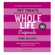 Whole Life Originals Grain-Free Pure Salmon Pet Treats, 8 Oz