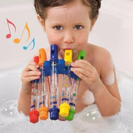 Kids Children Bathing Shower Bath Tub Water Flute Whistles Music - Bird Water Whistle Toy