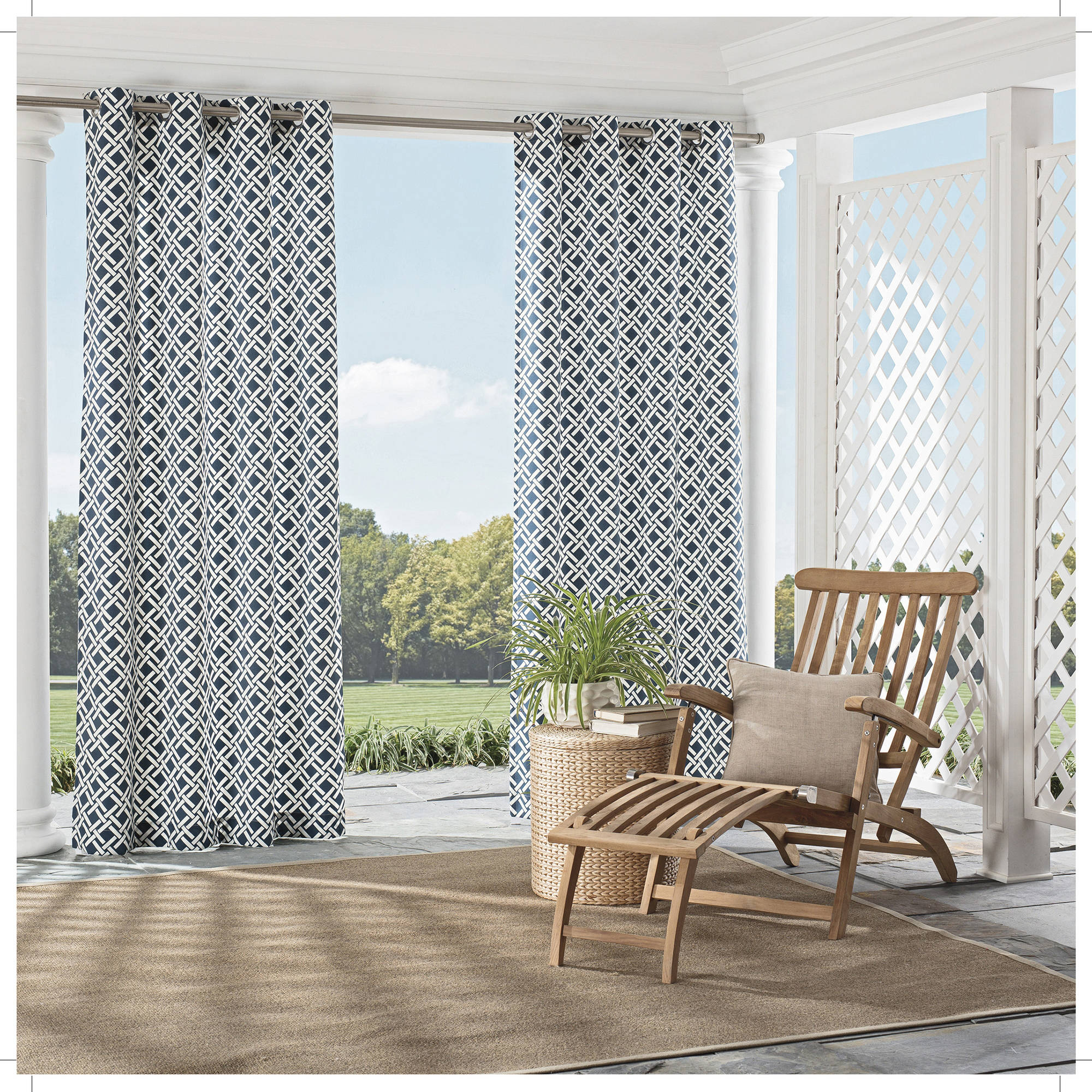 Parasol St. Kitts Indoor/Outdoor Curtains