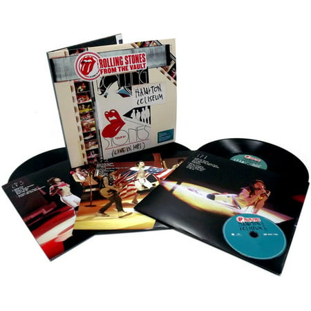 From the Vault: Hampton Coliseum (Live in 1981) (Vinyl) (Includes DVD) (Rolling Stones 1981)