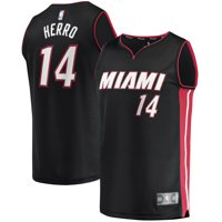 Tyler Herro Miami Heat Fanatics Branded Youth Fast Break Replica Jersey Black - Icon Edition