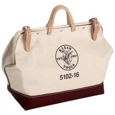 Klein Tools 5102-16 Canvas Tool Bag, 16-Inch Klein 16 Canvas Tool Bag