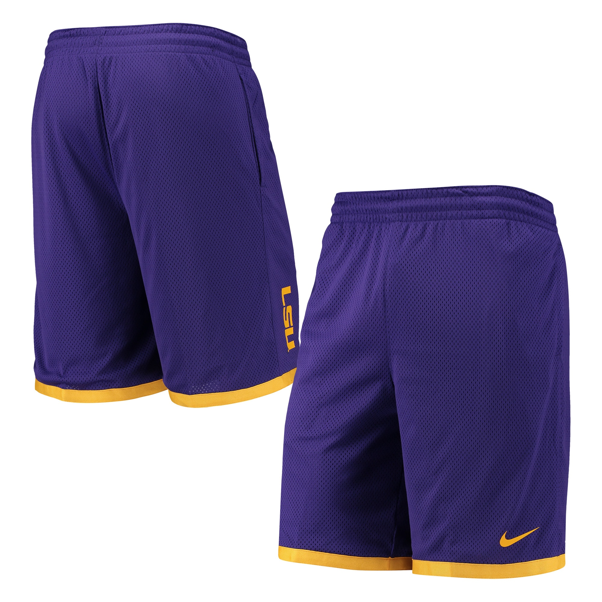 Loudmouth LSU Tigers Men/'s Basketball Shorts XL