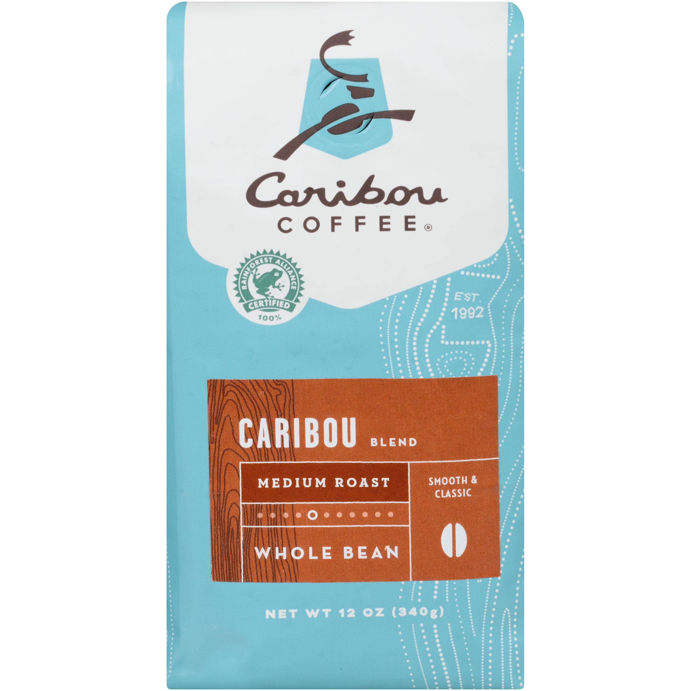 Caribou Coffee Caribou Blend Whole Bean Coffee, 12 oz