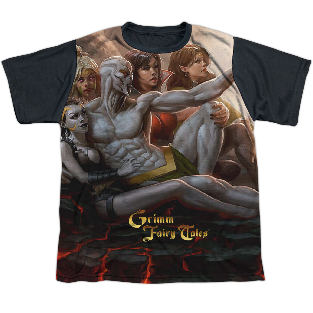 Zenescope Evil Vs Good Big Boys Sublimation Shirt