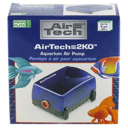 - Penn Plax AT2K0 10 Gallon Air Tech Aquarium Air Pump