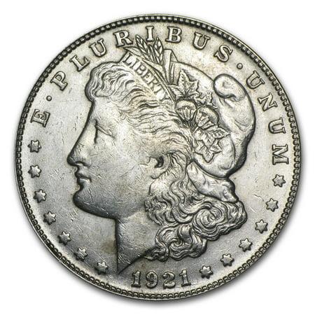 1921-S Morgan Dollar AU ()