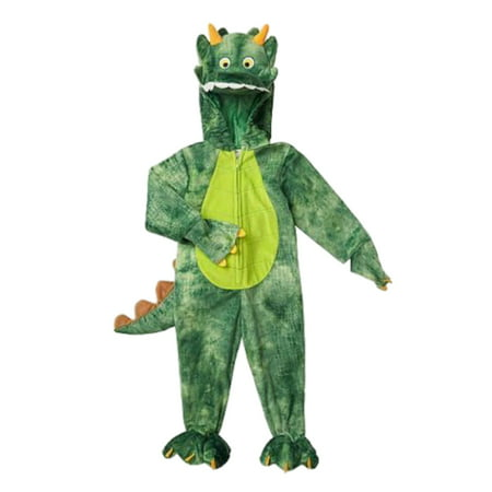 Infant & Toddler Boys Plush Dinosaur Dragon Costume Halloween Jumpsuit - Dragon Infant Halloween Costume